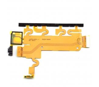 Flex Cable Sony Xperia Z1 L39H Przycisk zasilania Mikrofon Regulacja głośności