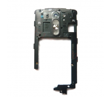 Behuizing Tussenchassis + Volume op knop LG G3S G3 Mini LG - 5