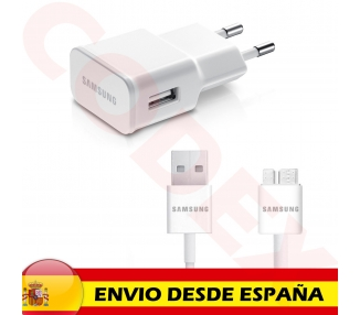 Samsung Galaxy Note 3 Charger + USB 3.0 Cable - Color White Samsung - 2