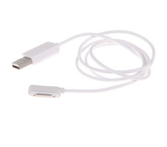 Magnetic Charging Cable for Sony Xperia Z1 Compact | Color White