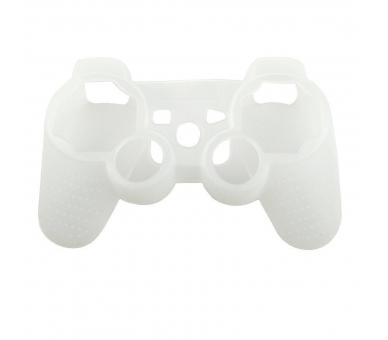Sony Playstation 3   Controller Case   Color Semi Transparent White ARREGLATELO - 1