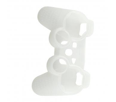 Siliconen beschermhoes voor PlayStation 3 PS3 Controller wit semi transparant ARREGLATELO - 4