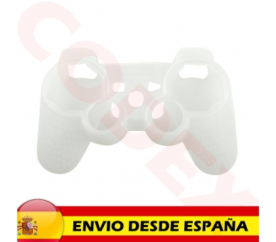 Sony Playstation 3   Controller Case   Color Semi Transparent White ARREGLATELO - 2