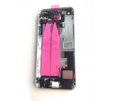 Chassisbehuizing voor iPhone SE met componenten en flexibele kabels Zilver ARREGLATELO - 2