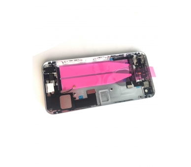 Chassisbehuizing voor iPhone SE met componenten en flexibele kabels Zilver ARREGLATELO - 3