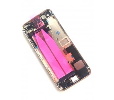 Chasis Carcasa para Iphone SE Bandeja + Botones + Componentes + Flex Dorado Apple - 4