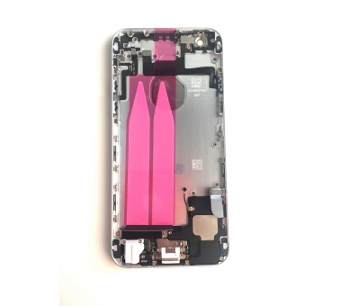 Chasis for iPhone 6 & Components | Color Silver ARREGLATELO - 1