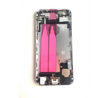 Chassis Behuizing voor Iphone 6 4.7 '' Tray Knoppen Componenten Flex Zilver ARREGLATELO - 1