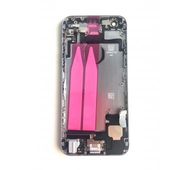 Chassis Behuizing voor Iphone 6 4.7 '' Tray Knoppen Componenten Flex Grijs ARREGLATELO - 1