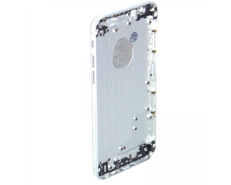 Chasis Carcasa para Iphone 6 de 4.7'' Bandeja + Botones Plata ARREGLATELO - 1