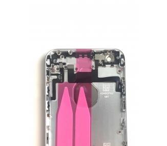 Obudowa dla Iphone 6 4.7 '' Tray Przyciski Elementy Flex Silver