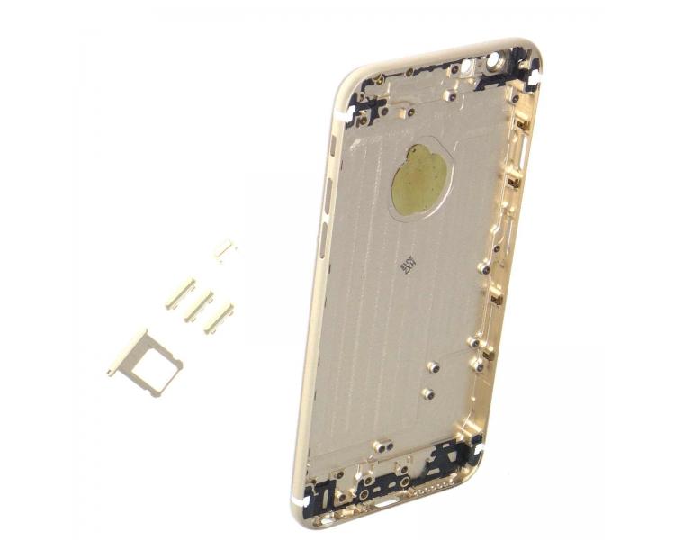 Obudowa obudowy dla iPhone 6 4.7 ze złotymi przyciskami