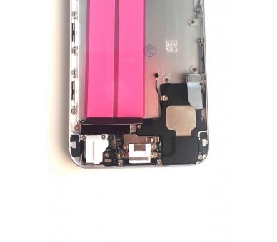 Chassis Behuizing voor Iphone 6 4.7 '' Tray Knoppen Componenten Flex Zilver ARREGLATELO - 3