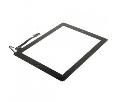 Touch Screen Digitizer voor iPad 4 met Home Button Zwart Zwart ARREGLATELO - 3