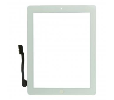 Touchscreen Digitizer voor iPad 4 met Home-knop Wit Wit ARREGLATELO - 2