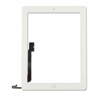 Touchscreen Digitizer voor iPad 4 met Home-knop Wit Wit ARREGLATELO - 4