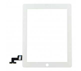 Digitizer z ekranem dotykowym do iPada 2, biały, biały