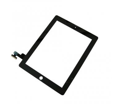 Touch Screen Digitizer voor iPad 2 Zwart Zwart ARREGLATELO - 2