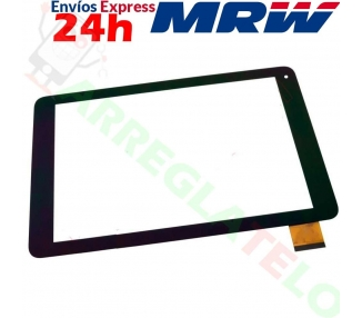 Touchscreen-digitizer voor Wolder miTab One - XC-PG1010-033-A1-FPC