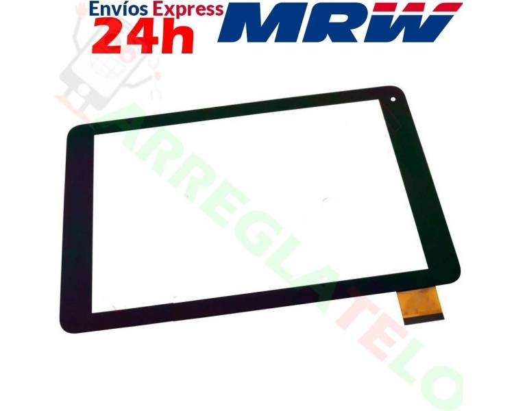 Touchscreen-digitizer voor Wolder miTab One - XC-PG1010-033-A1-FPC ARREGLATELO - 1