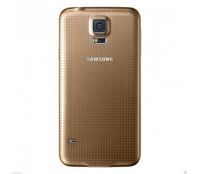 Back Cover voor Samsung Galaxy S5 Mini G800F Goud Goud ARREGLATELO - 3