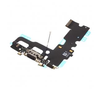 Złącze mikrofonu do ładowania Flex Headphone Jack dla iPhone 7 Black
