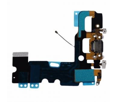 Opladen Flex Koptelefoon Jack Microfoon Connector voor iPhone 7 Zwart ARREGLATELO - 1