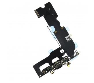 Taśma do ładowania złącza audio mikrofonu i anteny koncentrycznej iPhone 7 plus czarna