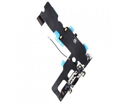 Opladen Flex Koptelefoon Jack Microfoon Connector voor iPhone 7 Zwart ARREGLATELO - 4