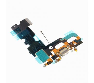 Opladen Flex Koptelefoon Jack Microfoon Connector voor iPhone 7 Wit ARREGLATELO - 2