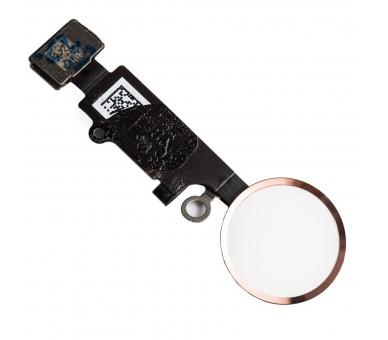 Flex-knop Home Menu-vingerafdruk voor iPhone 7/7 PLUS PINK GOLD ARREGLATELO - 1