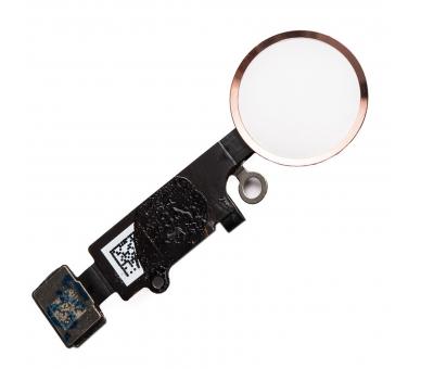 Flex-knop Home Menu-vingerafdruk voor iPhone 7/7 PLUS PINK GOLD ARREGLATELO - 2
