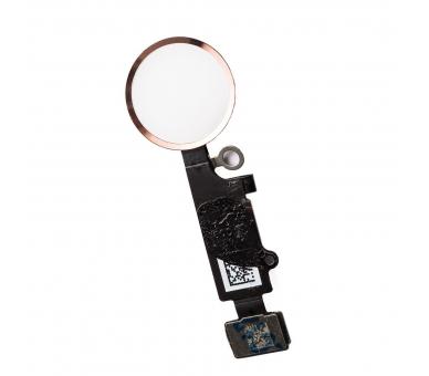 Flex-knop Home Menu-vingerafdruk voor iPhone 7/7 PLUS PINK GOLD ARREGLATELO - 3
