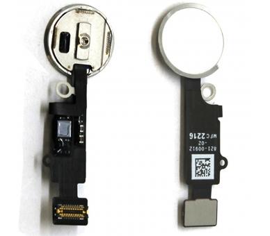 Home Menu Flexibele vingerafdrukknop voor iPhone 7 / iPhone 7 PLUS WIT ARREGLATELO - 2