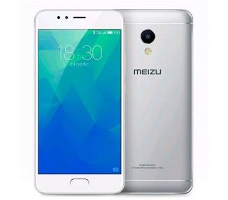 "Meizu M5s M5 S M 5 5.2"" Octa-Core 1.3 GHz 16GB 3GB Argento Bianco"