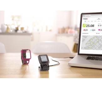 TomTom Runner - zegarek do biegania GPS, szary, jeden rozmiar