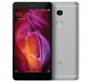"Xiaomi Redmi Note 4 5,5"" 4G Android 6.0 Deca-Core 16GB Gris Multilenguaje GLOBAL"