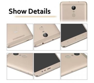 "Xiaomi Redmi Note 3 5.5 FHD 2GB 32GB Multilanguage Gold Gold "" Xiaomi - 5"