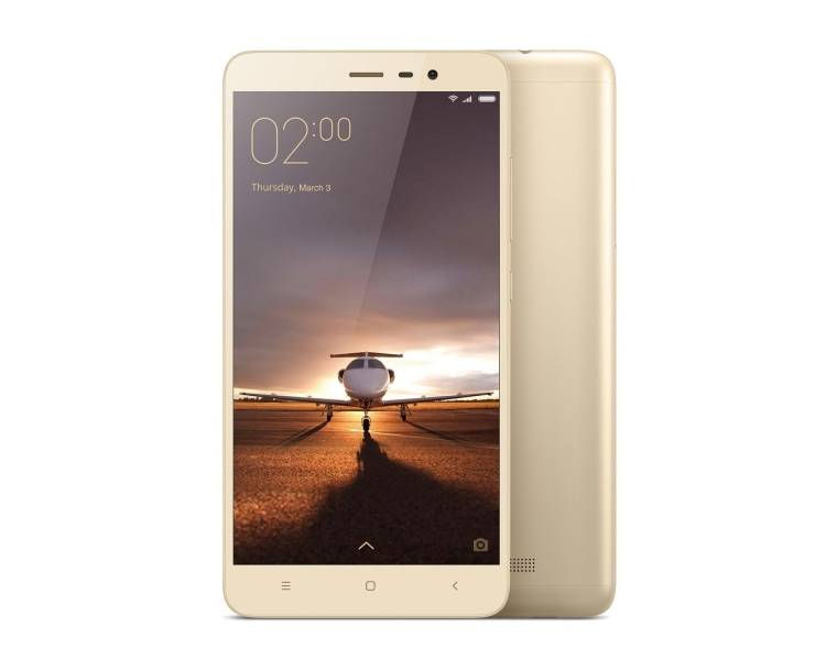 "Xiaomi Redmi Note 3 5.5 FHD 2GB 32GB Multilanguage Gold Gold "" Xiaomi - 1"