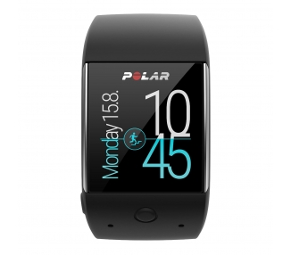 Polar M600 - Smartwatch con GPS integrado y pulsómetro HR en la muñeca, color negro