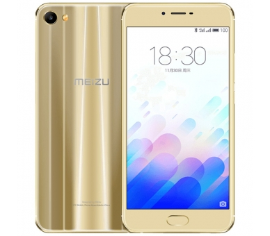 Meizu Meilan M3X 3GB RAM 32GB ROM GOLD Gold ROM INTERNATIONAL Meizu - 1