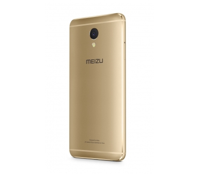 Meizu M5 Note 5 3G RAM 16G ROM 4000 mAh 4G LTE Goud Goud Meizu - 3