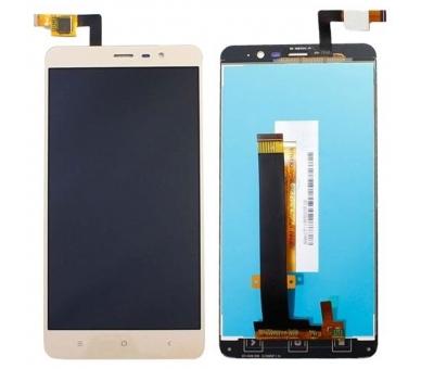 Display For Xiaomi Redmi Note 3 SE, Color Gold ARREGLATELO - 1