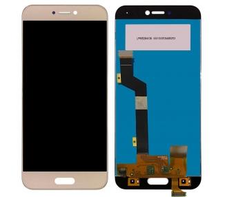 Pantalla Completa para Xiaomi Mi5C - Mi 5C - Dorado Dorada Oro ARREGLATELO - 1