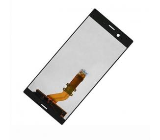 Pełny ekran dla Sony Xperia XZ F8331 F8332 Czarny Czarny