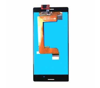 Display For Sony Xperia M4 Aqua, Color Black ARREGLATELO - 3