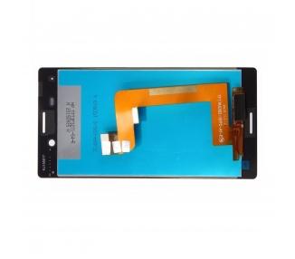 Pełny ekran dla Sony Xperia M4 AQUA E2303 E2306 E2353 Biały Biały