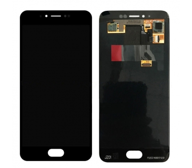 Volledig scherm voor Meizu MX6 Black Black FIX IT - 1