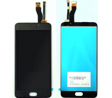 Volledig scherm voor Meizu M5 Note Black Black FIX IT - 1