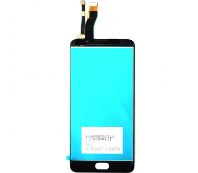Display For Meizu M5 Note, Color Black ARREGLATELO - 3